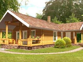 Maison Bois Chalet 09